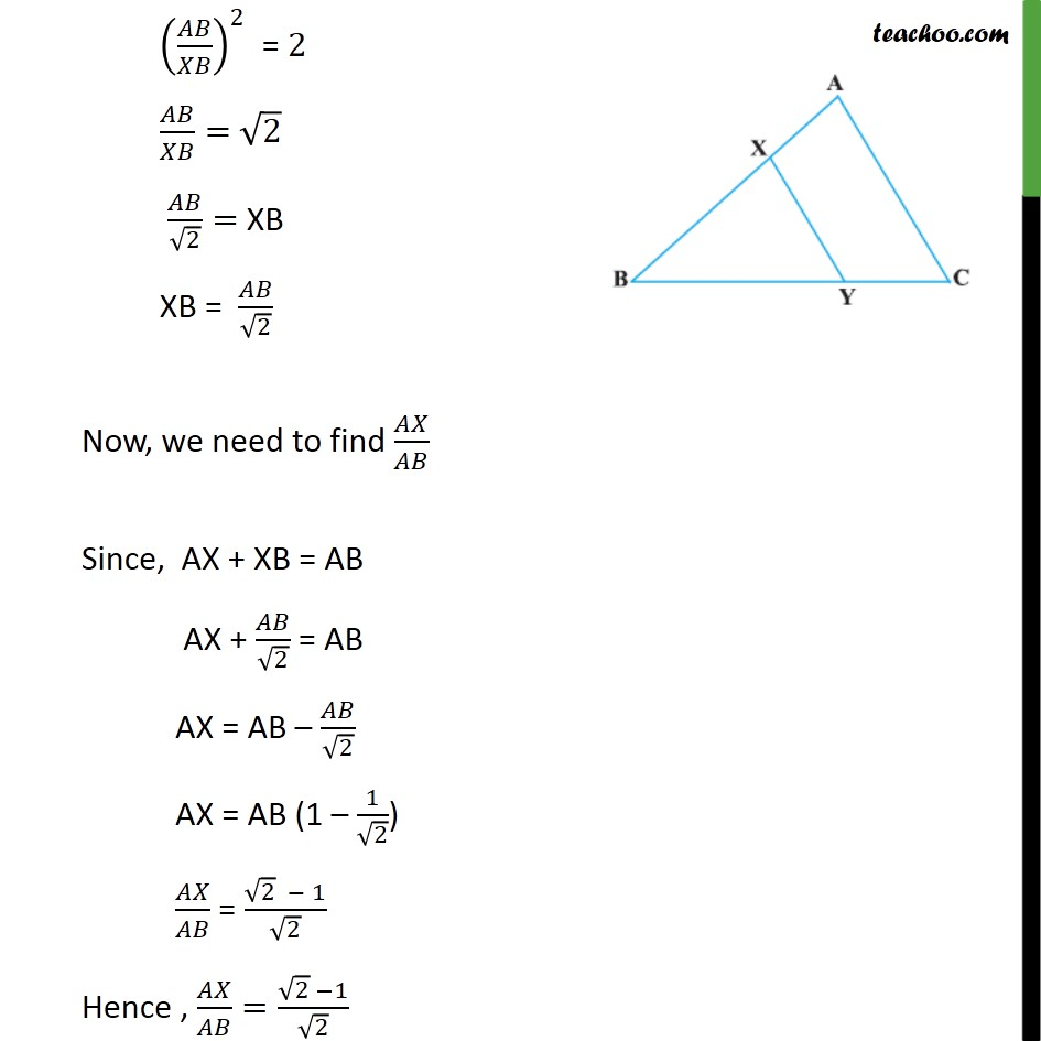 Example 9 - Chapter 6 Class 10 Triangles - Part 3