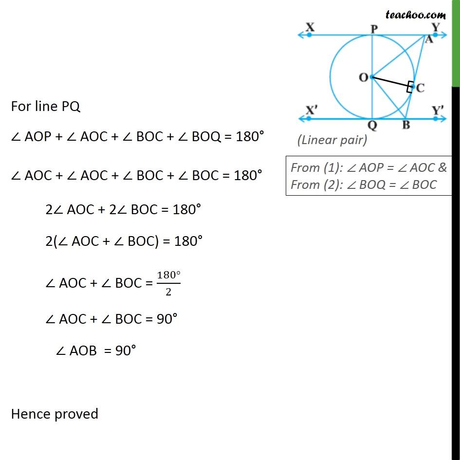 Ex 10.2, 9 - Chapter 10 Class 10 Circles - Part 3