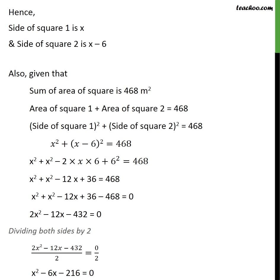 Ex 4.3, 11 - Chapter 4 Class 10 Quadratic Equations - Part 2