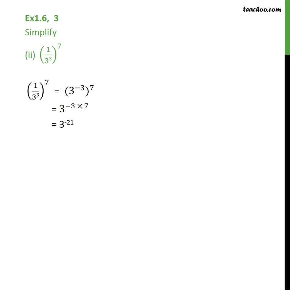 Ex 1.6,3 - Chapter 1 Class 9 Number Systems - Part 2