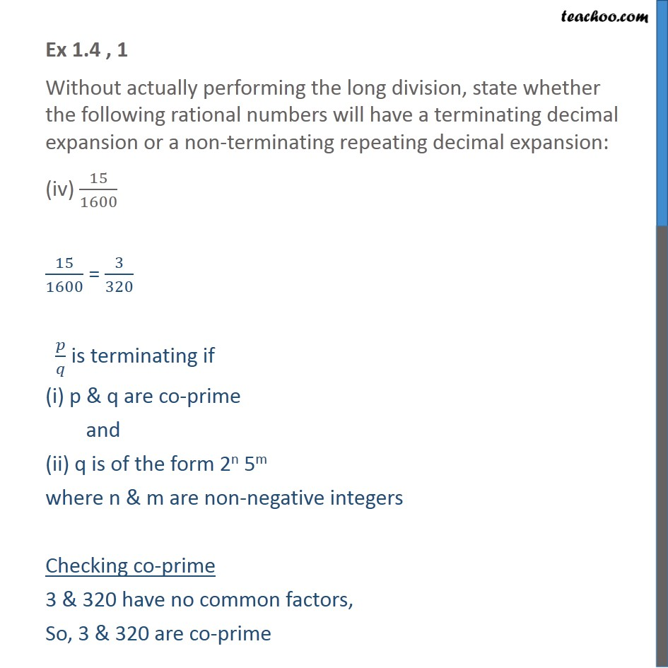 Ex 1.4, 1 - Chapter 1 Class 10 Real Numbers - Part 7