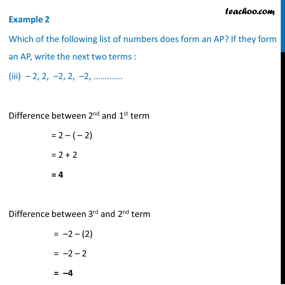 Example 2 - Chapter 5 Class 10 Arithmetic Progressions - Part 7