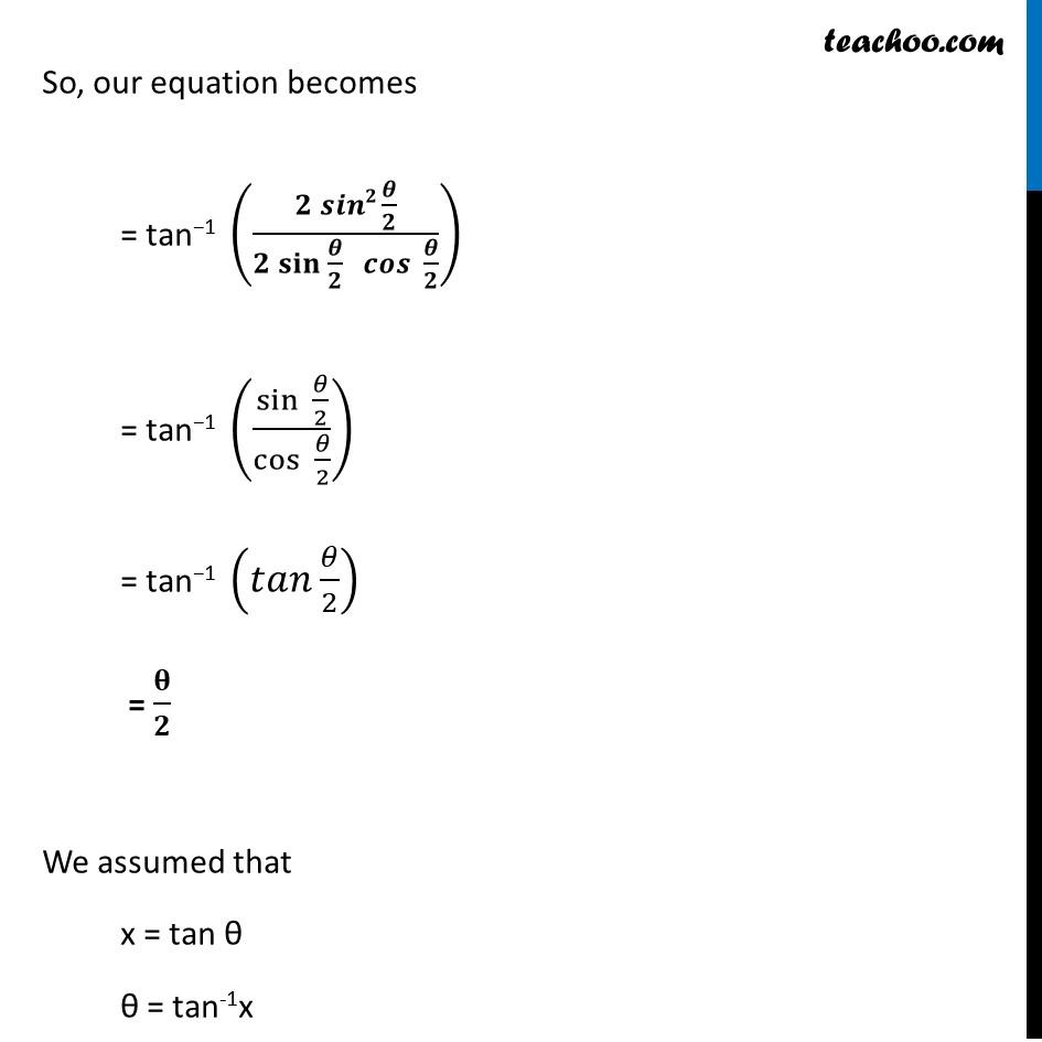 Ex 2.2, 5 - Chapter 2 Class 12 Inverse Trigonometric Functions - Part 3