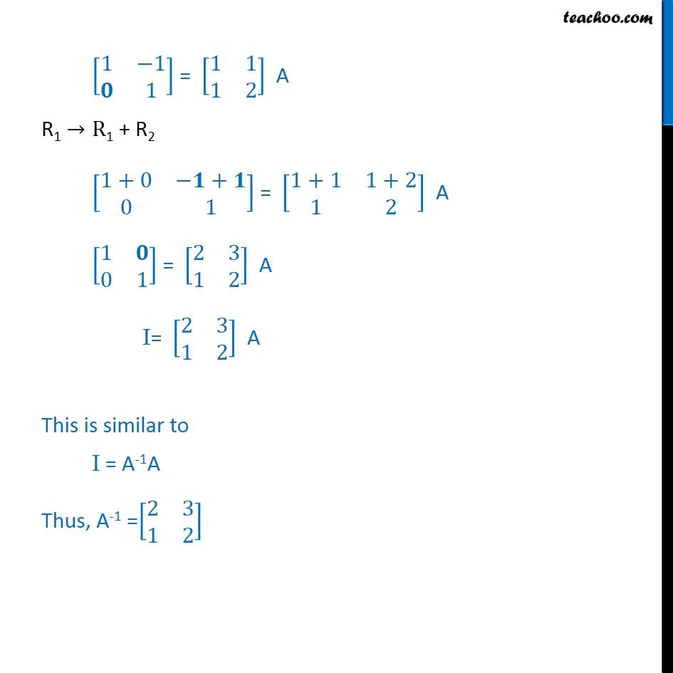 Ex 3.4, 13 - Chapter 3 Class 12 Matrices - Part 2