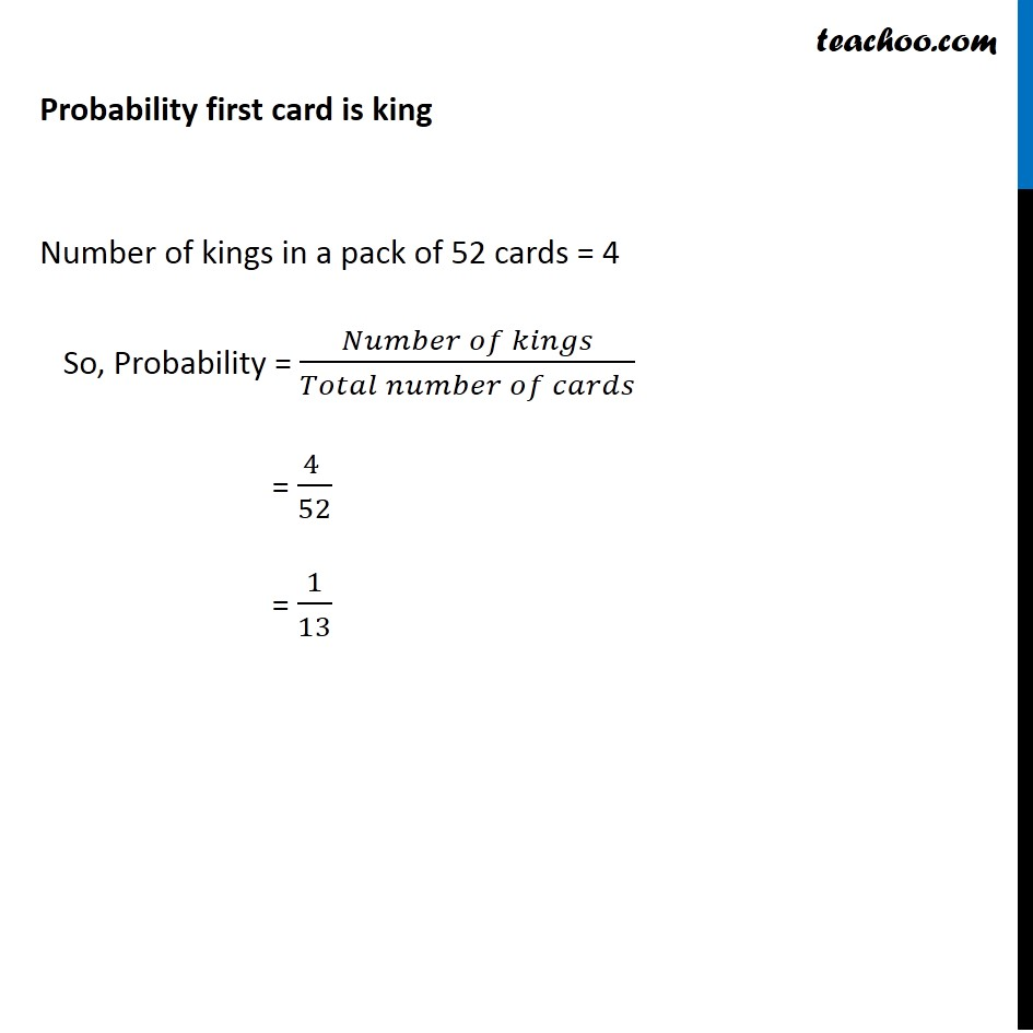 Example 9 - Chapter 13 Class 12 Probability - Part 2