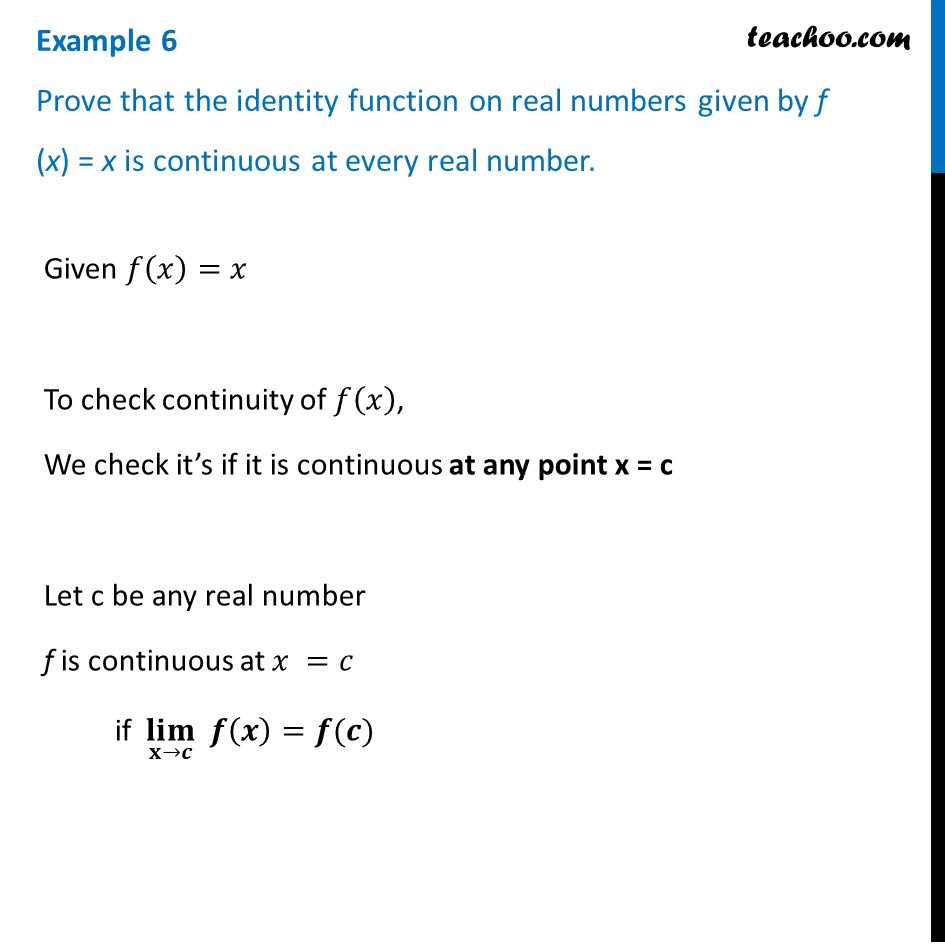 Example 6 - Examples