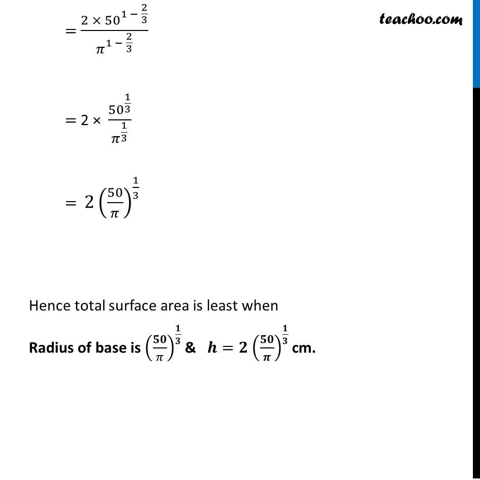 Ex 6.5,21 - Chapter 6 Class 12 Application of Derivatives - Part 8