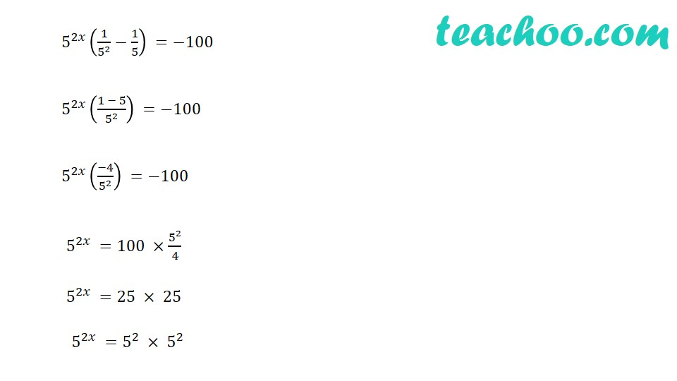 Practice Questions on Laws of Exponents - Part 9