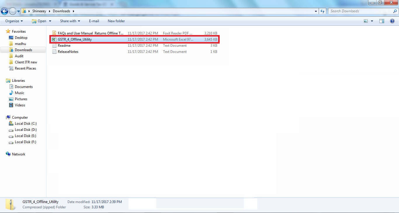 7. Click GSTR 4 Offline Utility FIle.jpg
