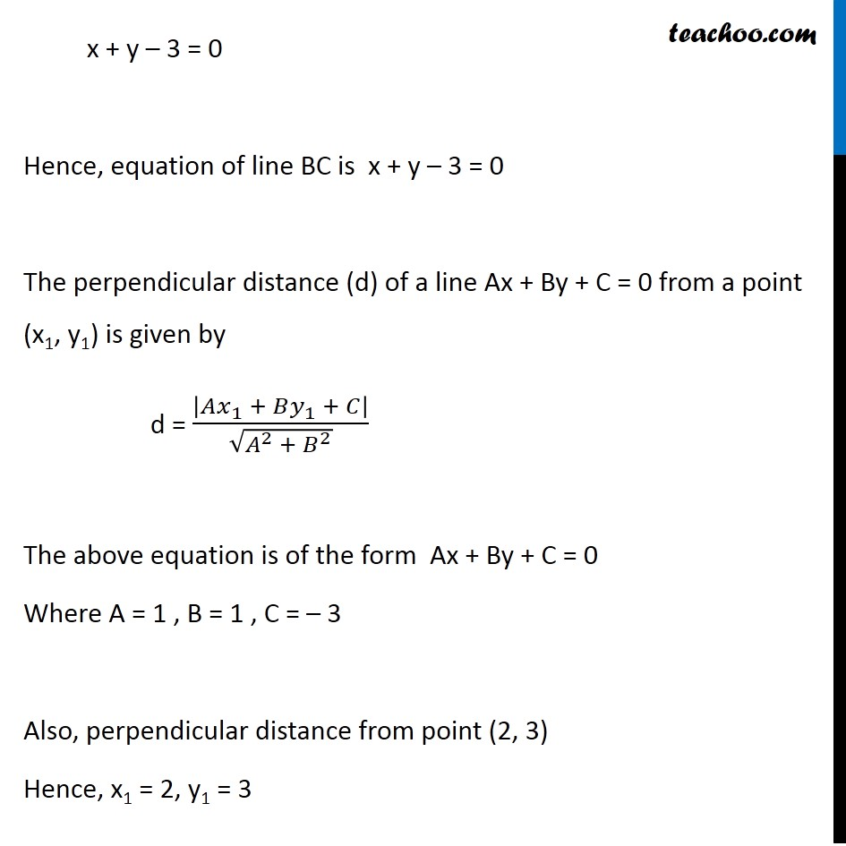 Ex 10.3, 17 - Chapter 10 Class 11 Straight Lines - Part 6