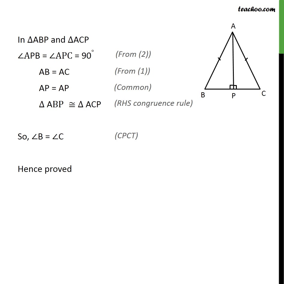 Ex 7.3, 5 - Chapter 7 Class 9 Triangles - Part 2