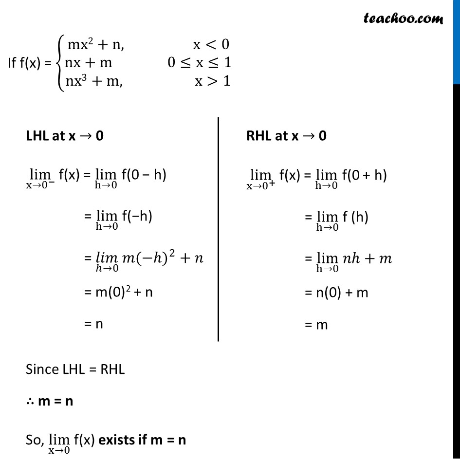 Ex 13.1, 32 - Chapter 13 Class 11 Limits and Derivatives - Part 2
