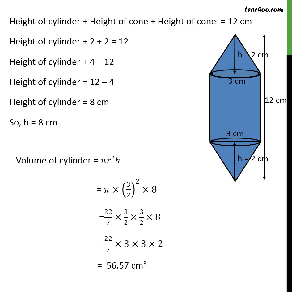 Ex 13.2, 2 - Chapter 13 Class 10 Surface Areas and Volumes - Part 2
