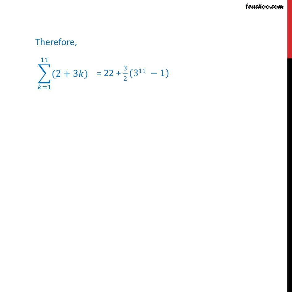 Ex 9.3, 11 - Chapter 9 Class 11 Sequences and Series - Part 5