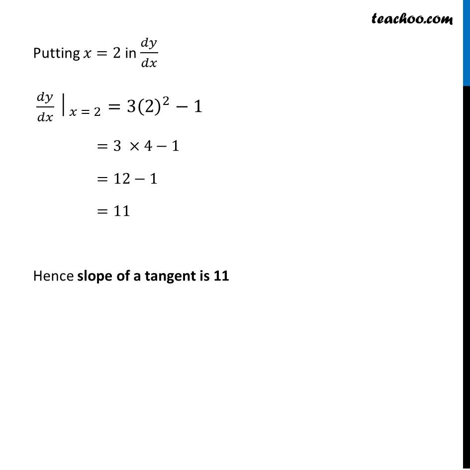 Ex 6.3,3 - Chapter 6 Class 12 Application of Derivatives - Part 2