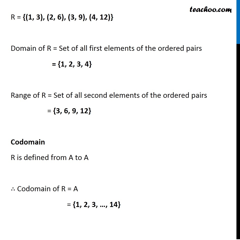 Ex 2.2, 1 - Chapter 2 Class 11 Relations and Functions - Part 2