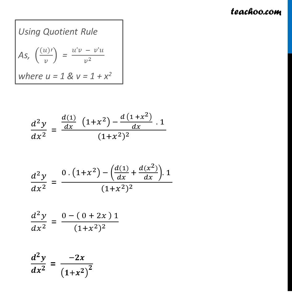 Ex 5.7, 8 - Chapter 5 Class 12 Continuity and Differentiability - Part 2