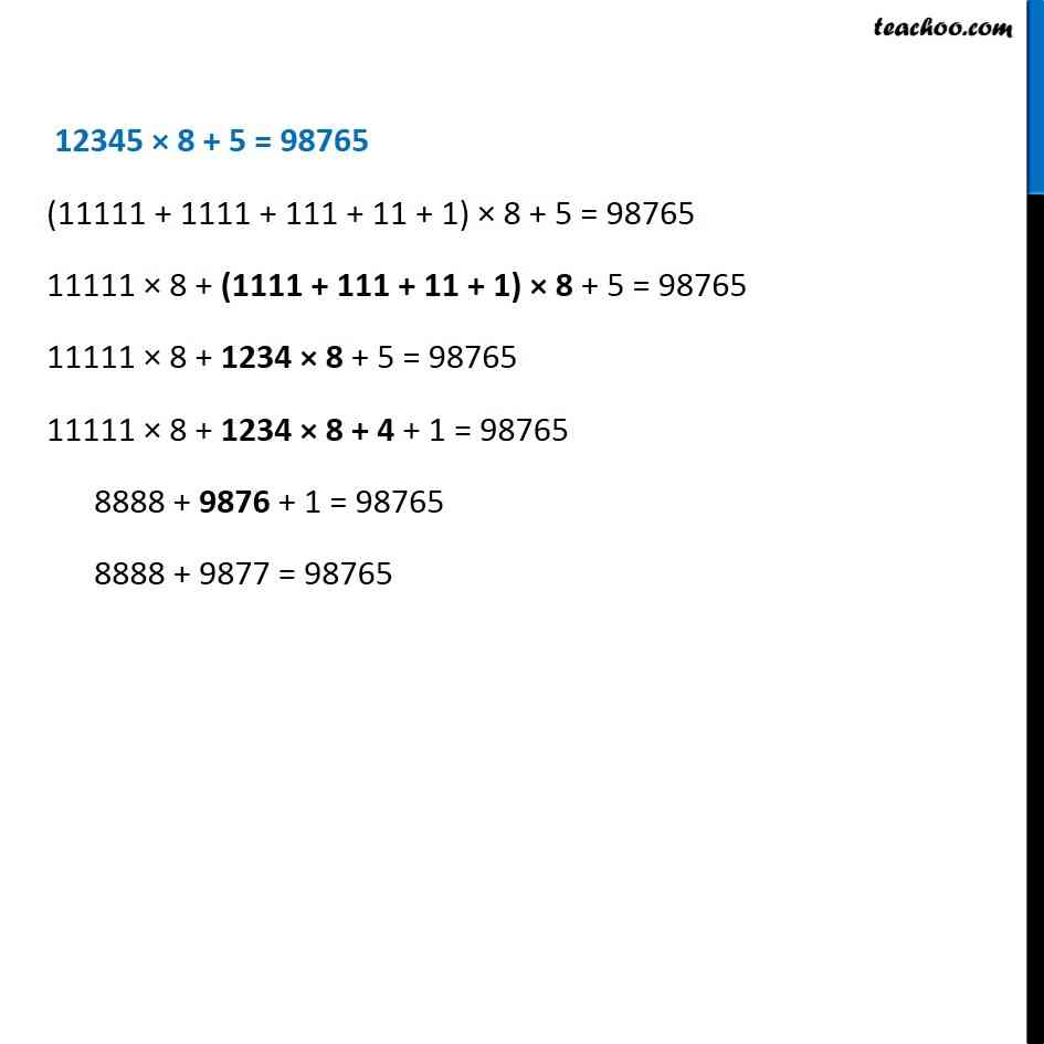 Ex 2.3, 5 - Chapter 2 Class 6 Whole Numbers - Part 4