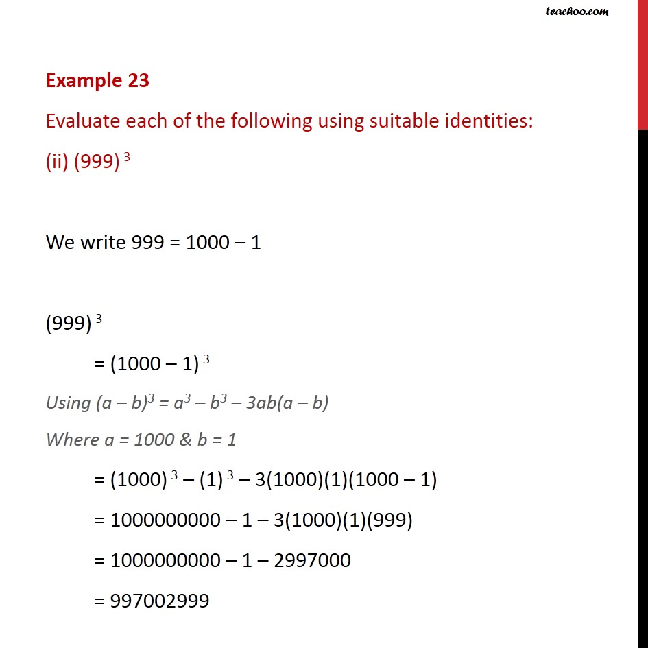 Example 23 - Chapter 2 Class 9 Polynomials - Part 2