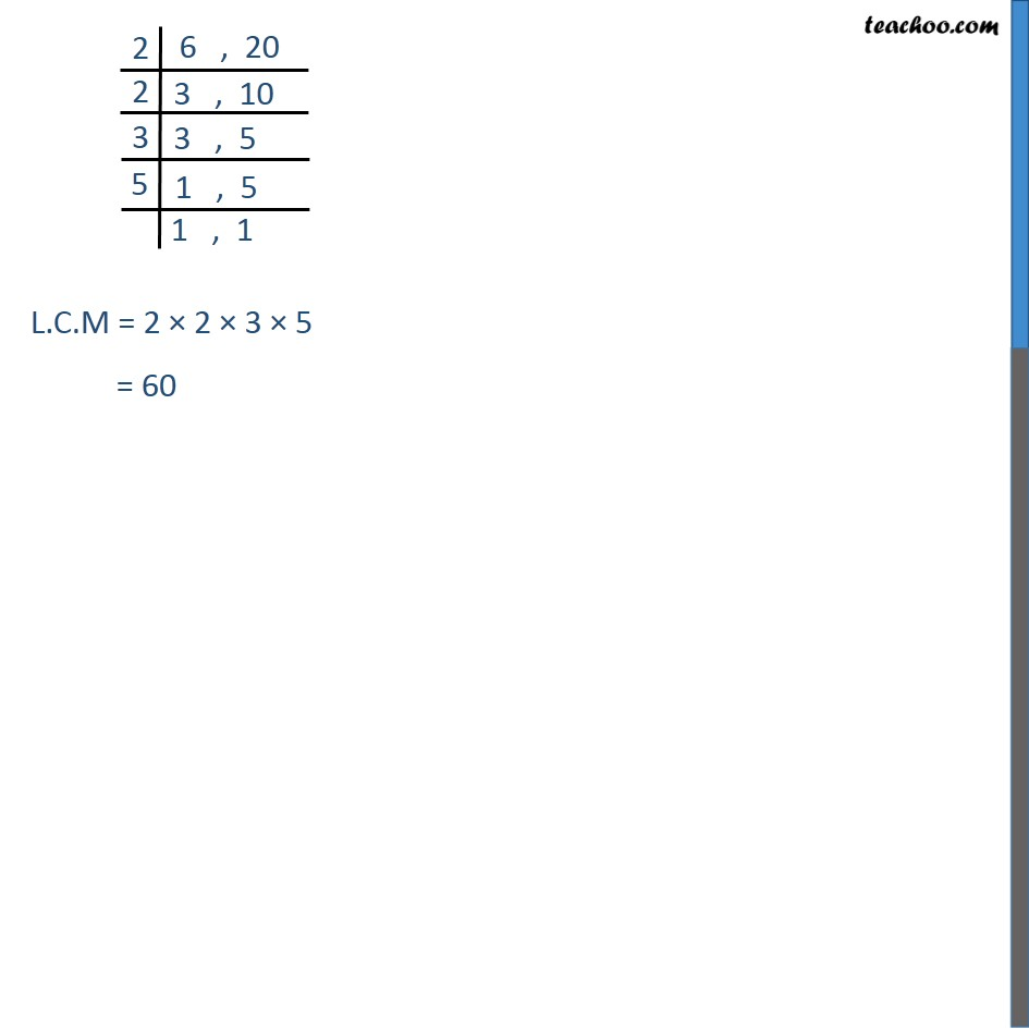 Example 6 - Chapter 1 Class 10 Real Numbers - Part 3