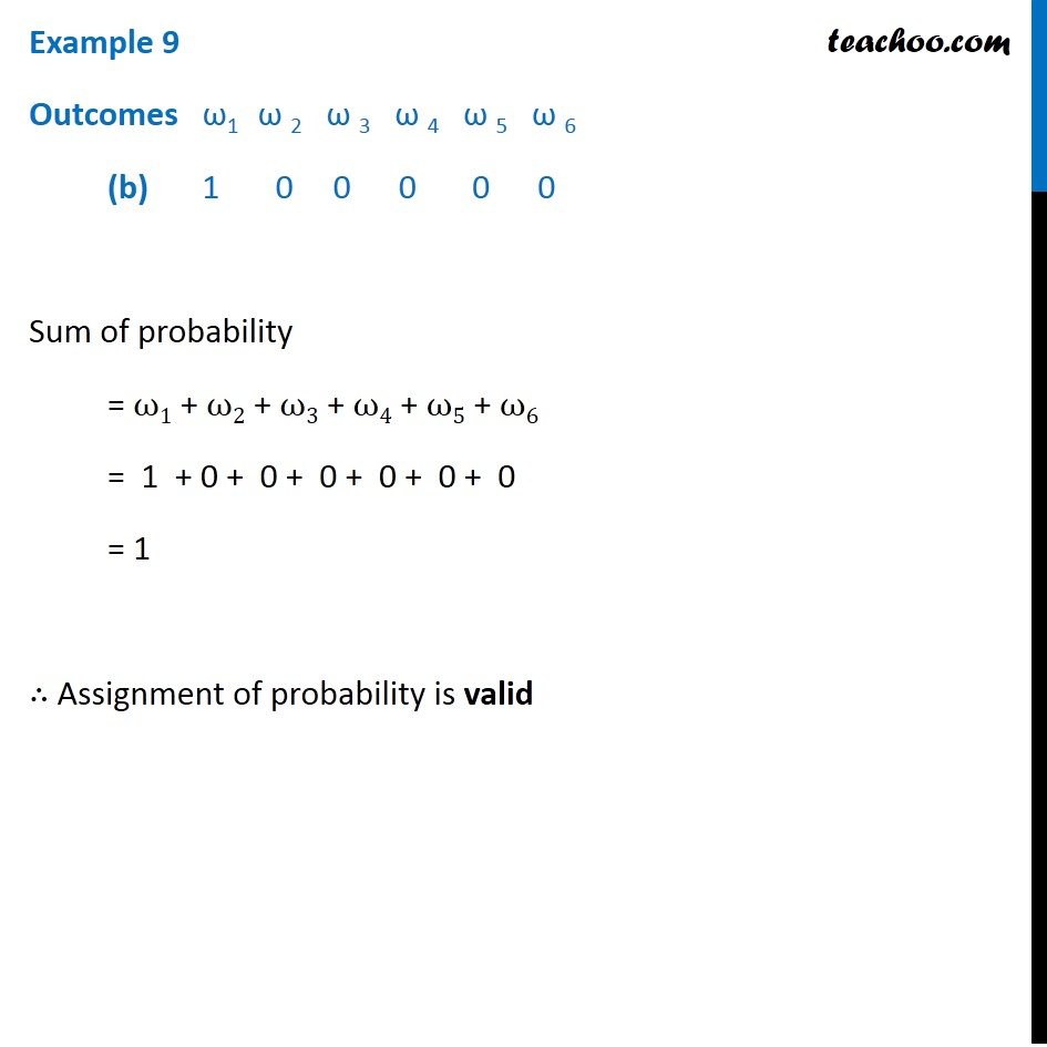 Example 9 - Chapter 16 Class 11 Probability - Part 2