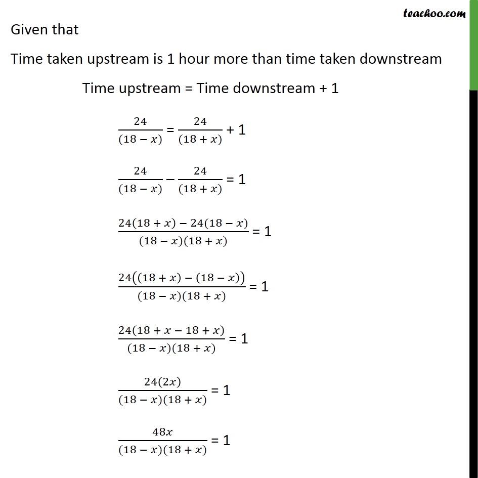 Example 15 - Chapter 4 Class 10 Quadratic Equations - Part 2