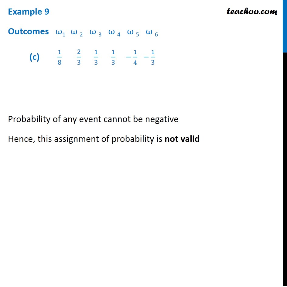 Example 9 - Chapter 16 Class 11 Probability - Part 3