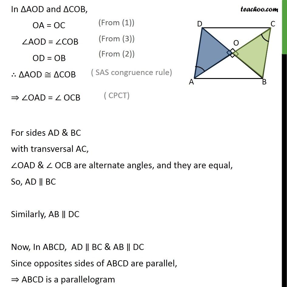Ex 8.1, 3 - Chapter 8 Class 9 Quadrilaterals - Part 2