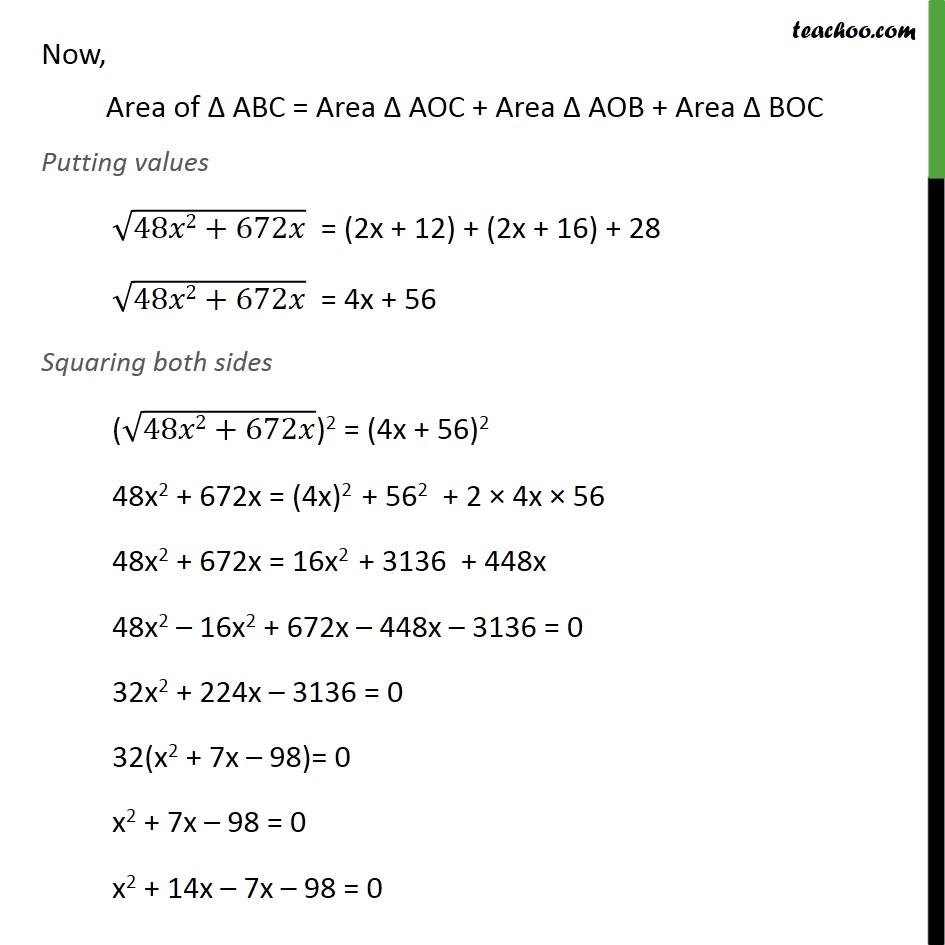 Ex 10.2, 12 - Chapter 10 Class 10 Circles - Part 6