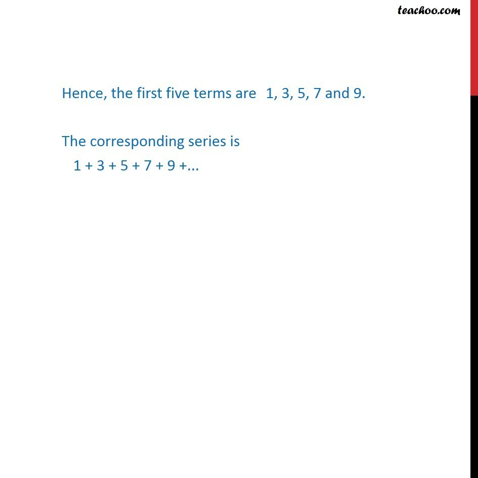 Example 3 - Chapter 9 Class 11 Sequences and Series - Part 3