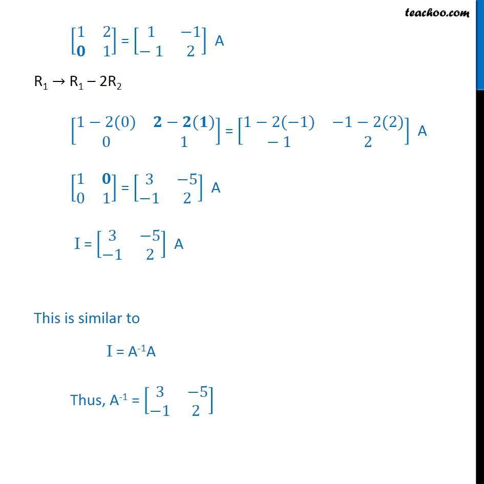 Ex 3.4, 6 - Chapter 3 Class 12 Matrices - Part 2