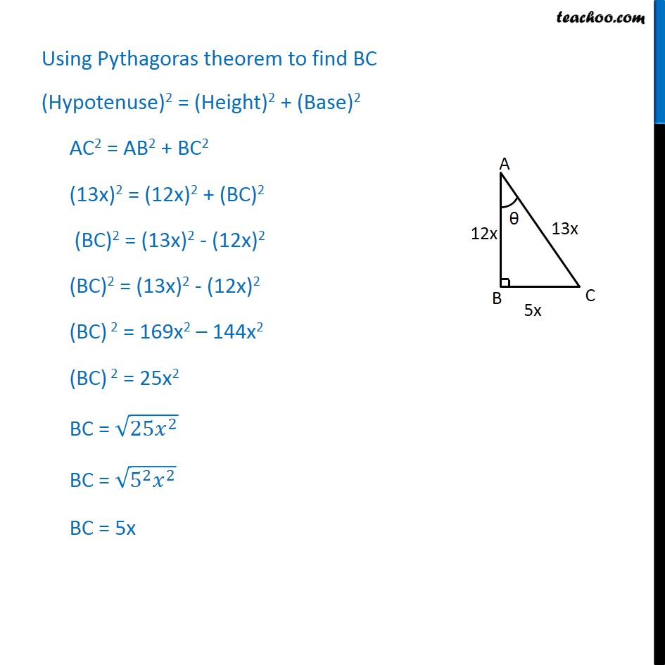 Ex 8.1, 5 - Chapter 8 Class 10 Introduction to Trignometry - Part 2