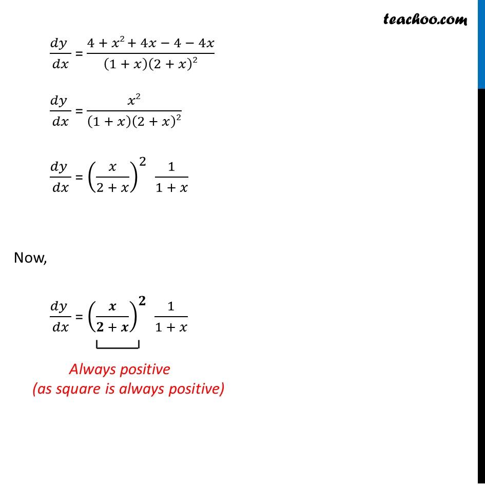 Ex 6.2,7 - Chapter 6 Class 12 Application of Derivatives - Part 3