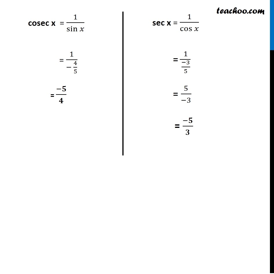 Example 6 - Chapter 3 Class 11 Trigonometric Functions - Part 4