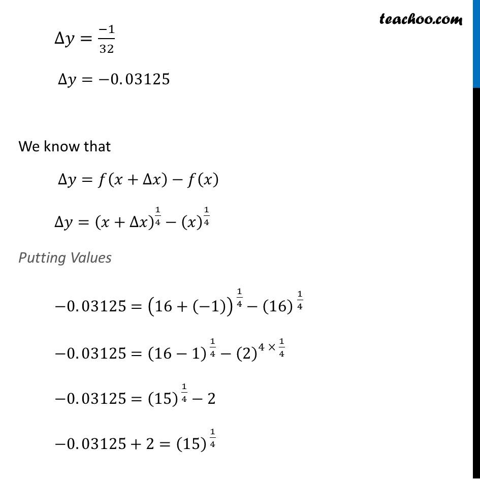 Ex 6.4, 1 (vi) - Chapter 6 Class 12 Application of Derivatives - Part 3
