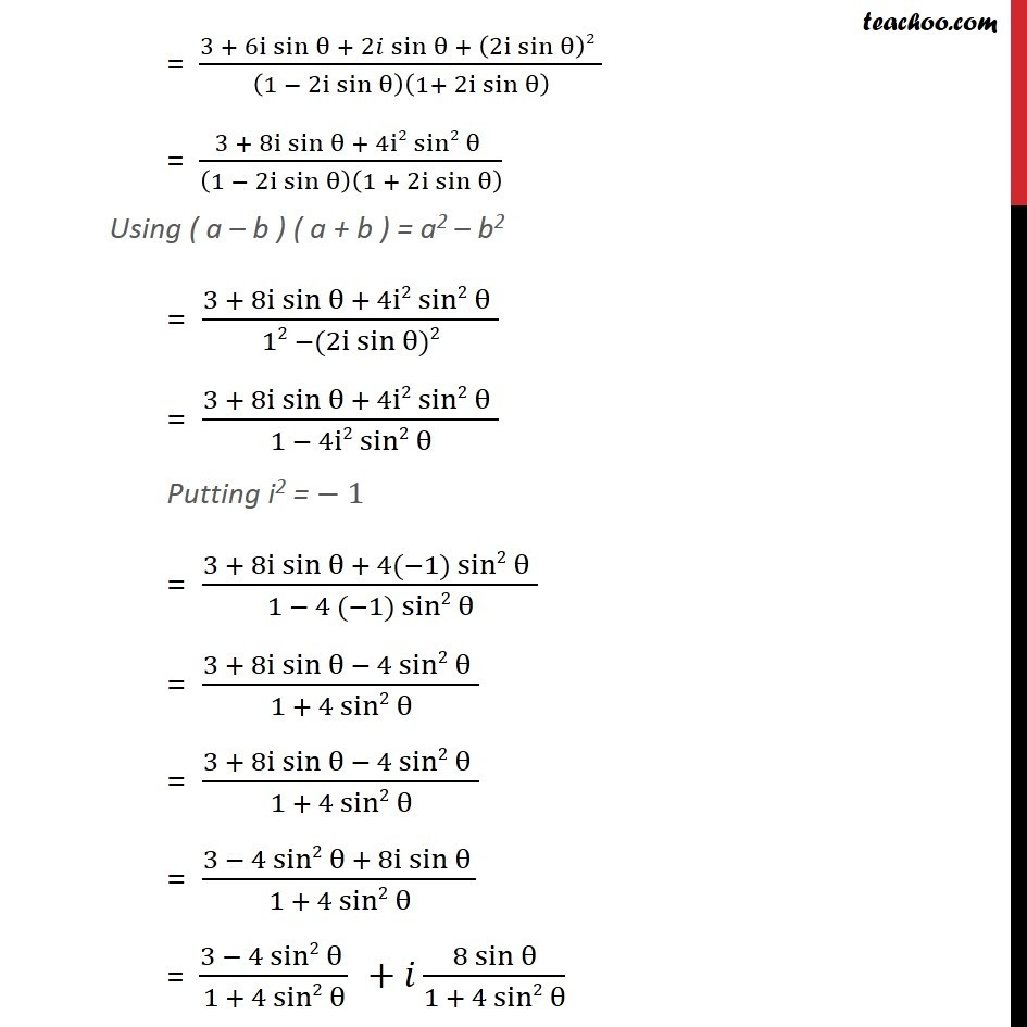 Example 15 - Chapter 5 Class 11 Complex Numbers - Part 2