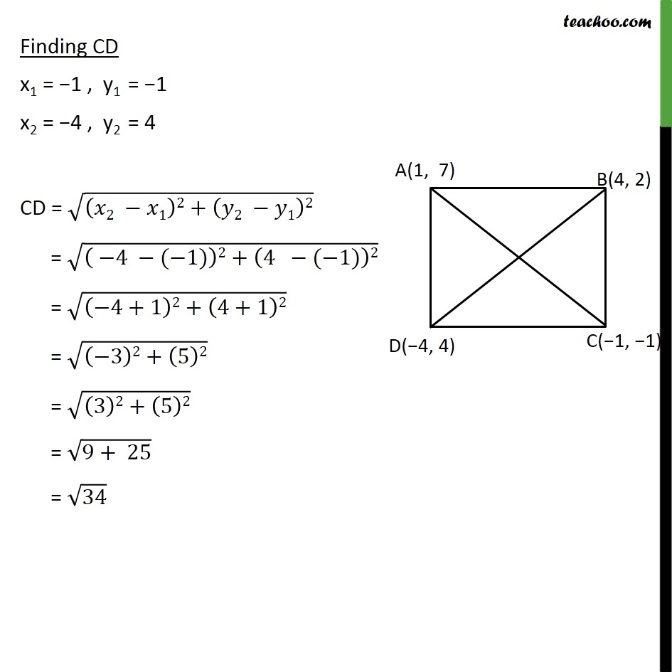 Example 2 - Chapter 7 Class 10 Coordinate Geometry - Part 4