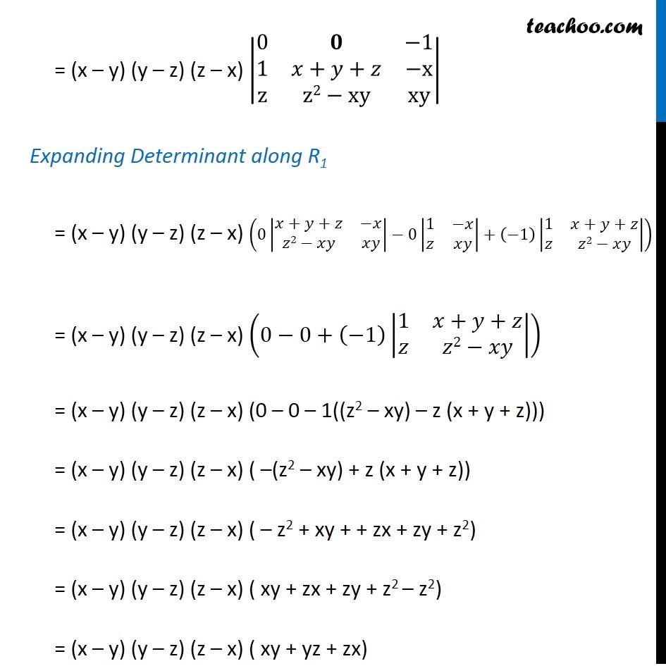 Ex 4.2, 9 - Chapter 4 Class 12 Determinants - Part 5