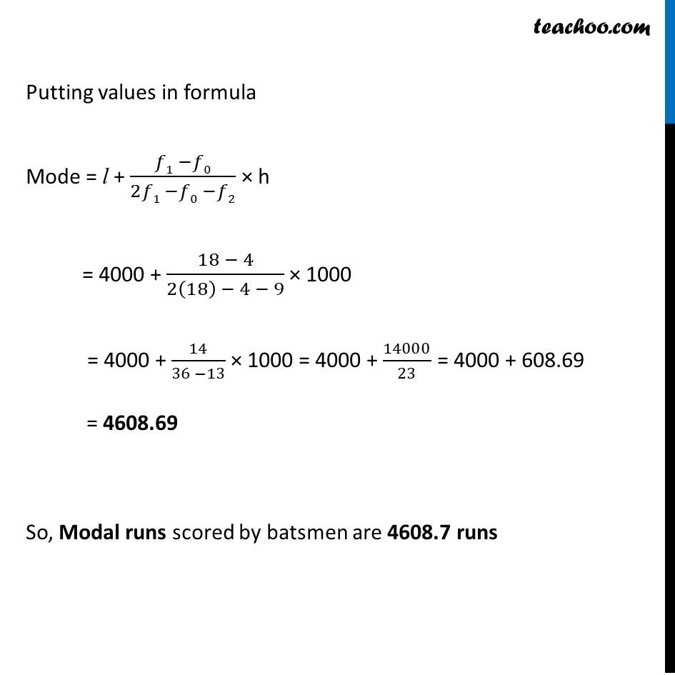 Ex 14.2, 5 - Chapter 14 Class 10 Statistics - Part 2