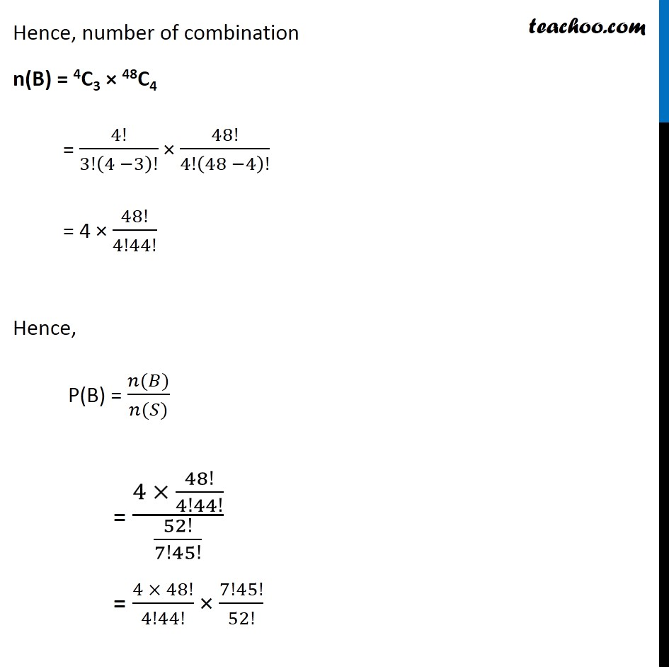 Example  15 - Chapter 16 Class 11 Probability - Part 4