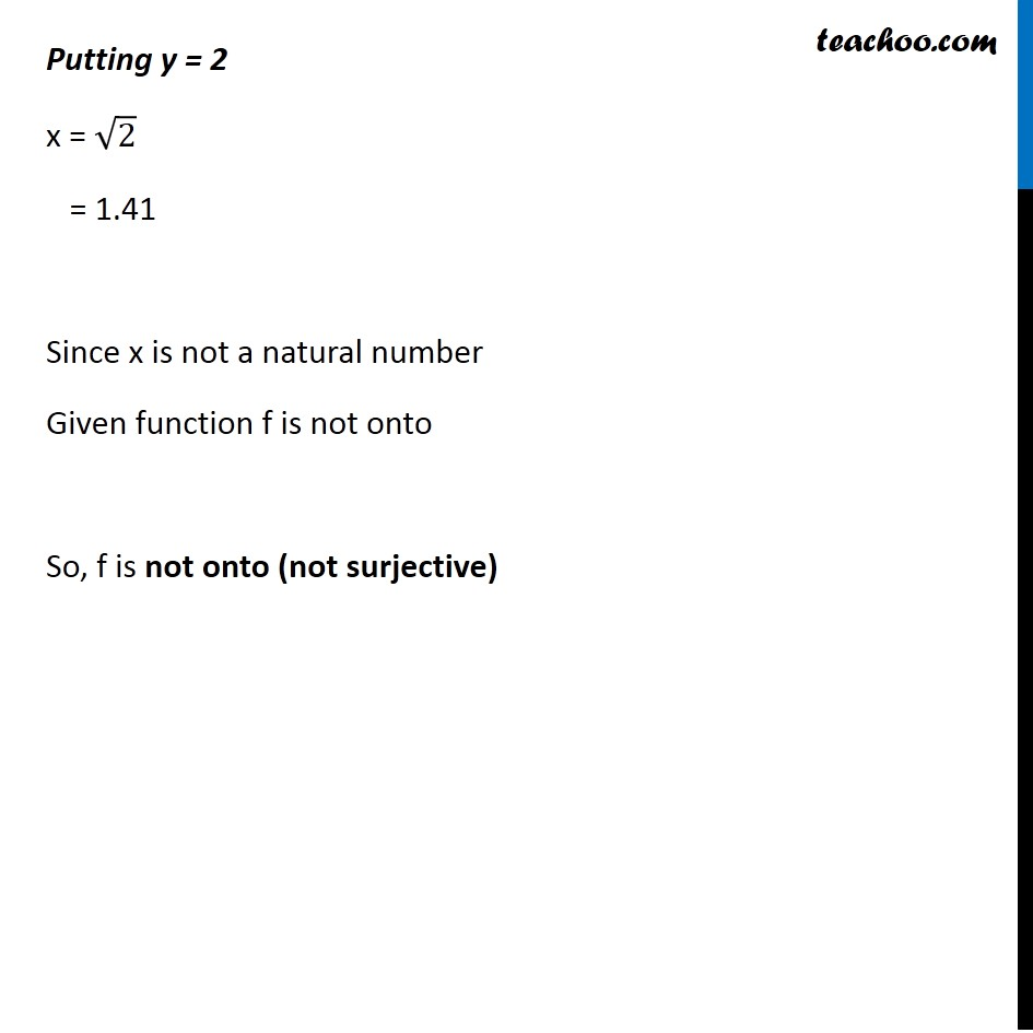 Ex 1.2 , 2 - Chapter 1 Class 12 Relation and Functions - Part 3