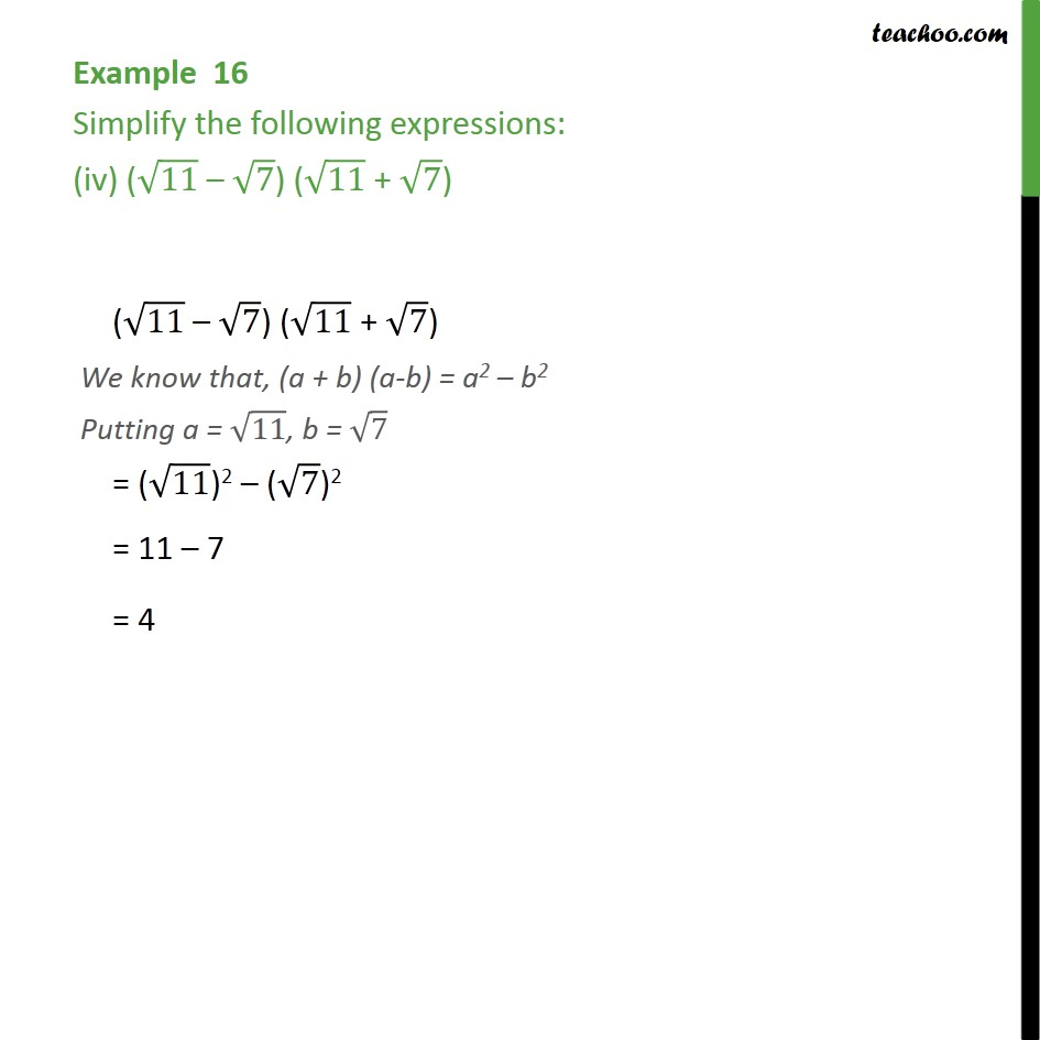 Example 16 - Chapter 1 Class 9 Number Systems - Part 4