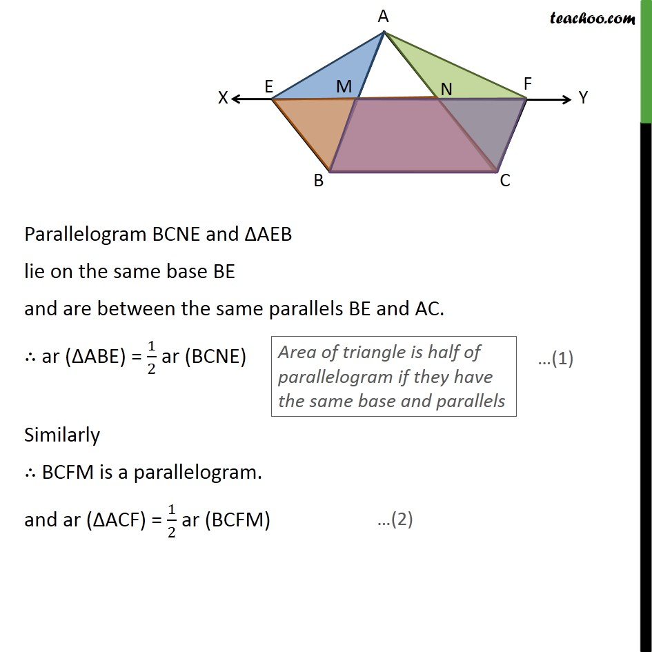Ex 9.3, 8 - Chapter 9 Class 9 Areas of Parallelograms and Triangles - Part 2