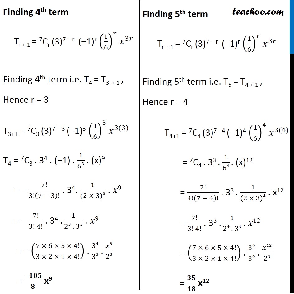 Ex 8.2,7 - Chapter 8 Class 11 Binomial Theorem - Part 3
