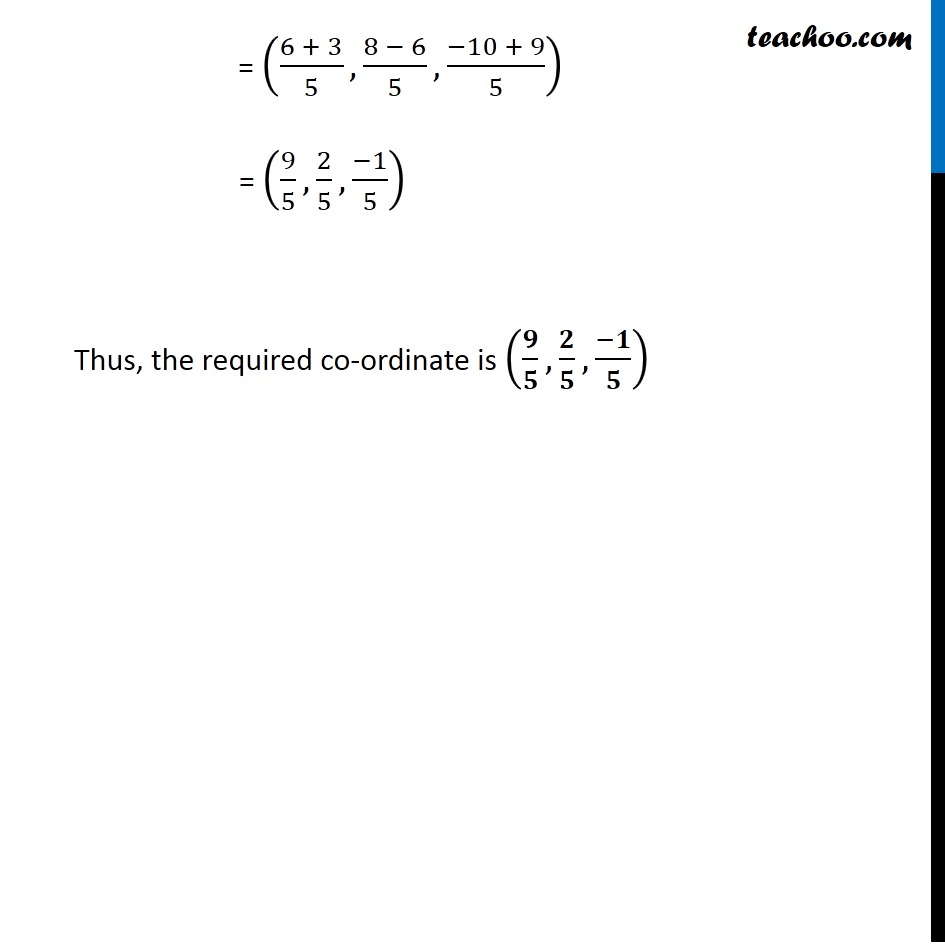 Example 7 - Chapter 12 Class 11 Introduction to Three Dimensional Geometry - Part 3