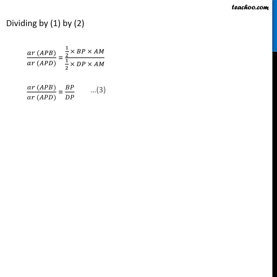 Ex 9.4, 6 (Optional) - Chapter 9 Class 9 Areas of Parallelograms and Triangles - Part 3