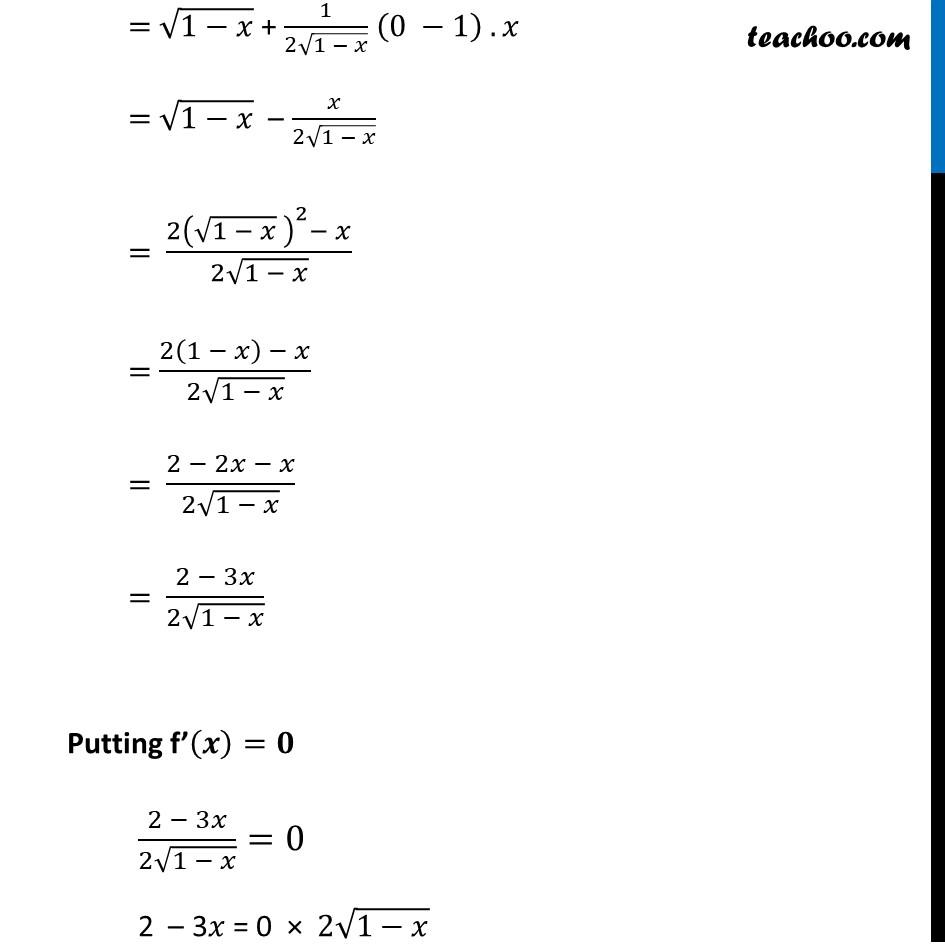 Ex 6.5,3 - Chapter 6 Class 12 Application of Derivatives - Part 29