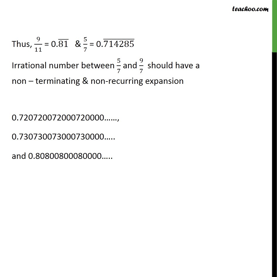 Ex 1.3, 8 - Chapter 1 Class 9 Number Systems - Part 2