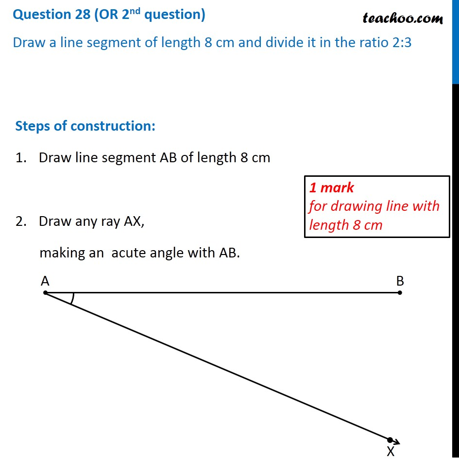 Question 28 (OR 2nd question) - CBSE Class 10 Sample Paper for 2020 Bo