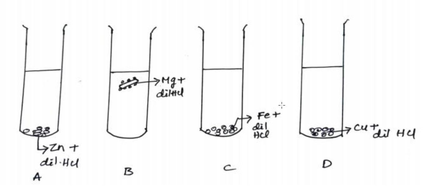 Q 27 - different behaviour of Mg in test tube B - Teachoo.jpg